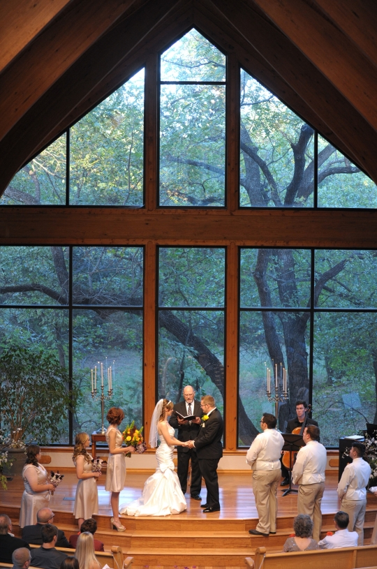 Beautiful wedding chapel in Norman, Oklahoma #thunderbirdchapel #normanoklahoma #wedding