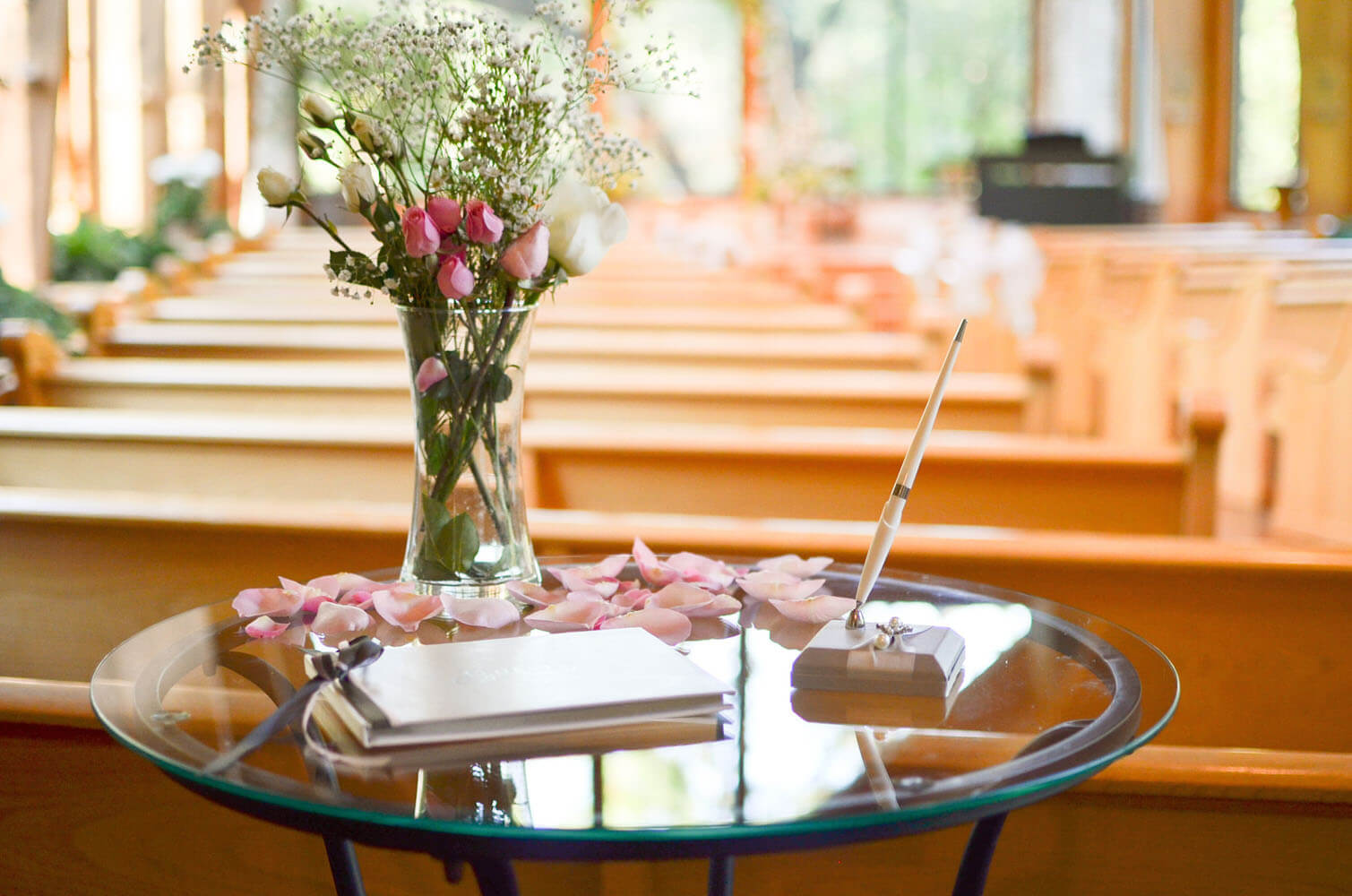 Wedding Guestbook At Thunderbird Chapel In Norman Oklahoma Thunderbirdchapel Normanoklahoma